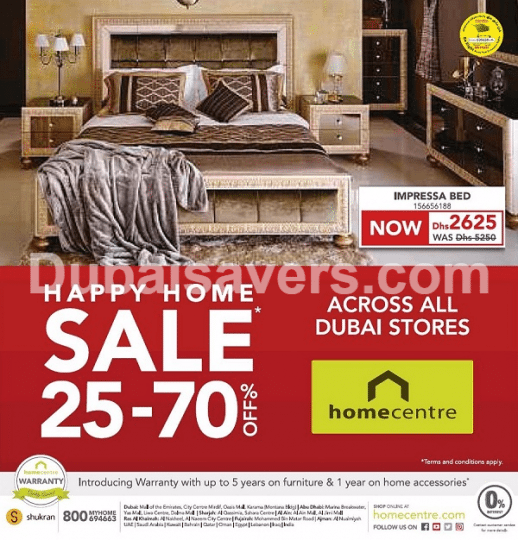 Home Centre Sale In Dubai Uae