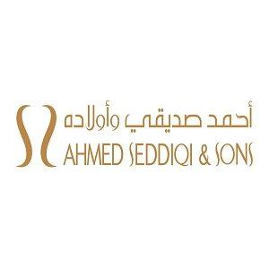 Ahmed Seddiqi & sons Dubai logo