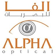 Alpha optical Dubai logo