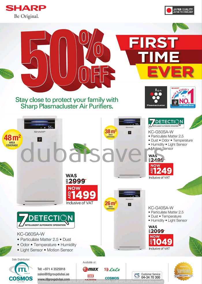 Sharp GITEX Shopper deals - Dubaisavers