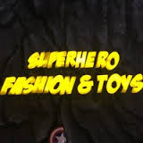 Superhero fashion & toys Dubai logo