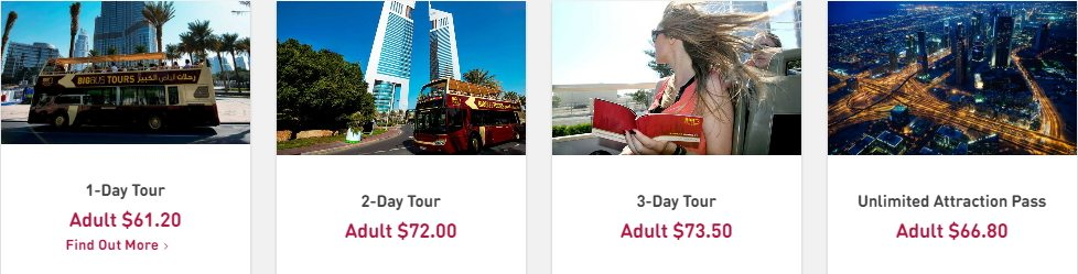 Tours & Activities - Dubaisavers