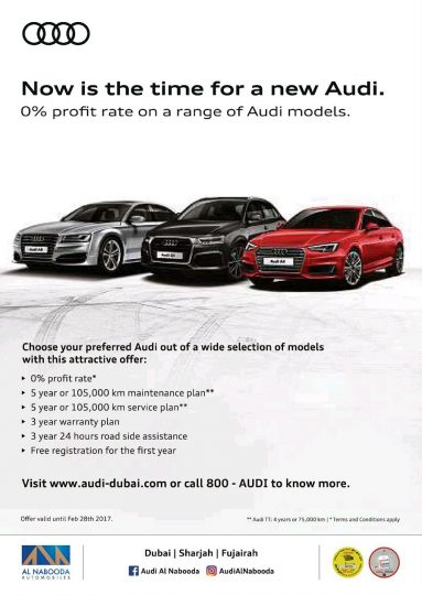 Audi Attractive Offers - Dubaisavers