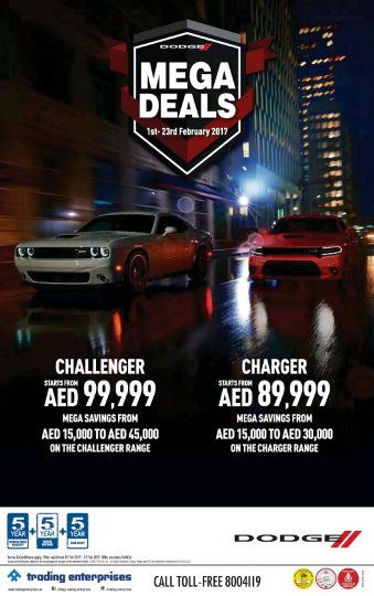 Dodge Mega Deals - Dubaisavers
