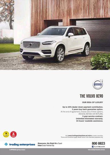 The Volvo XC90 Special Offer - Dubaisavers