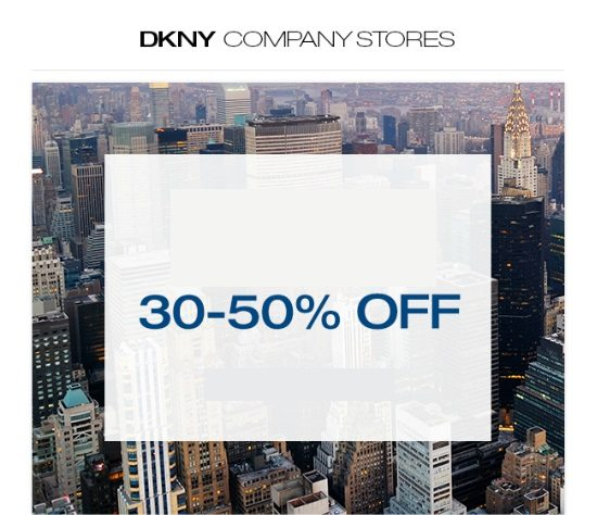 Part Sale at DKNY - Dubaisavers