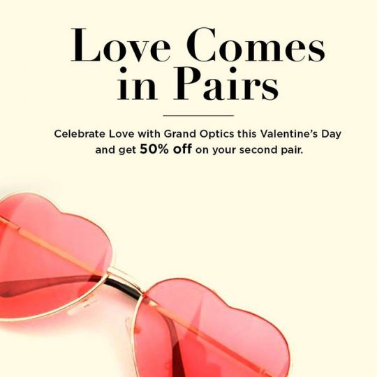 Grand Optics Valentine's Day Offers - Dubaisavers