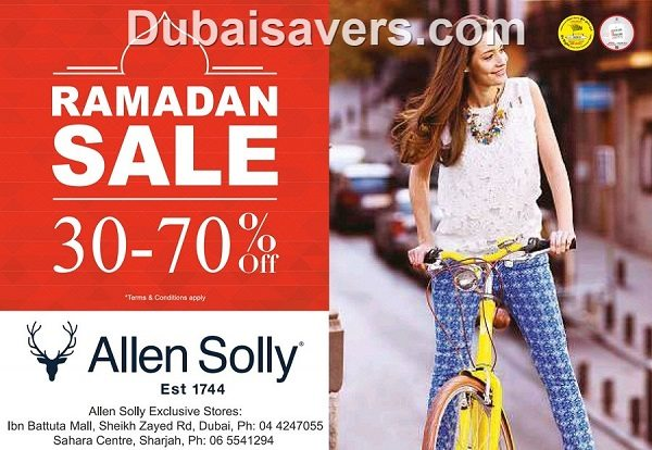 Ramadan Sale at Allen Solly - Dubaisavers