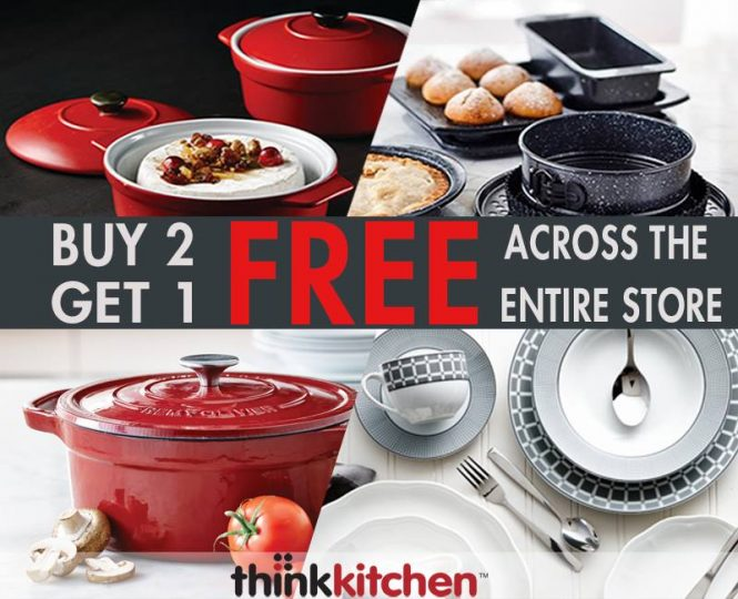 Ordinaire Think Kitchen Buy 2 Get 1 Free Offer