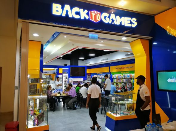 Back to Games opens at Times Square Centre - Dubaisavers