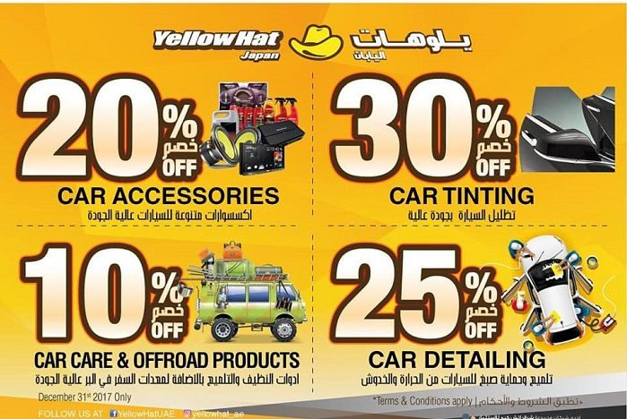 Yellow Hat Special Offer - Dubaisavers