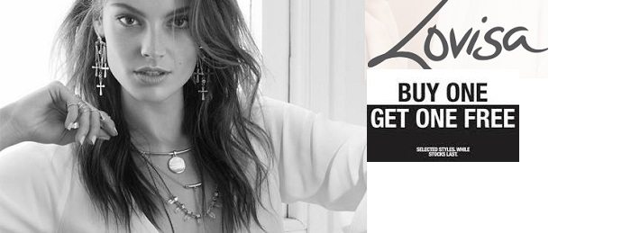 Buy 1 Get 1 Free at Lovisa - Dubaisavers