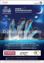 Celebrate Eid & Win At Dubai Dolphinarium - Dubaisavers