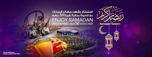 IMG Worlds of Adventure Offers FREE Voucher this Ramadan - Dubaisavers