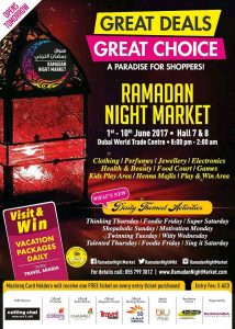 Ramadan Night Market Offers Great Deals & Great Choices - Dubaisavers