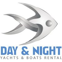 Day & Night Passenger Yachts & Boats Rental Logo