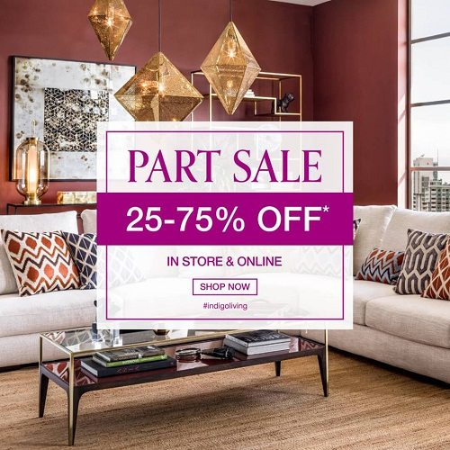 Indigo Living Part Sale - Dubaisavers