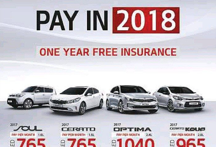 Kia buy now pay later promotion dubaisavers for Airline tickets buy now pay later
