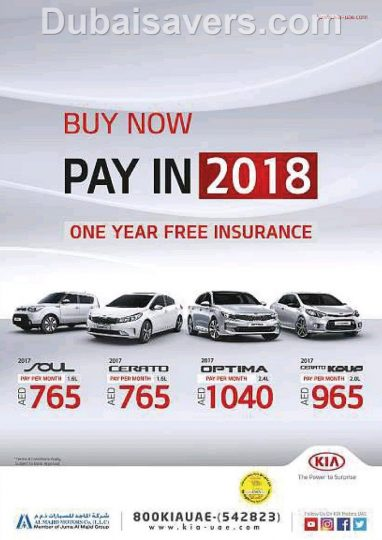 Buy Now Pay Later Car Deals >> KIA Buy now Pay later promotion