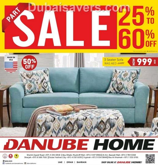 Danube Home Part Sale Updated On 16th Sept 2017