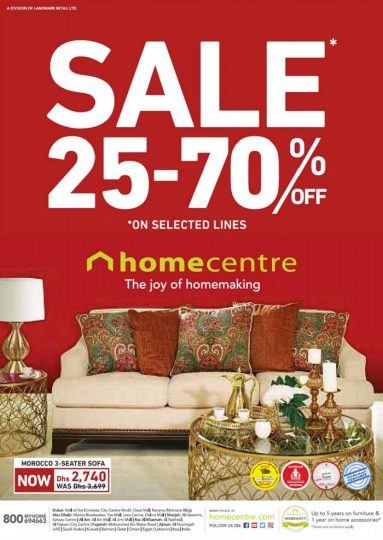 Home Centre Sale In Dubai Uae Updated On 27th October 2017