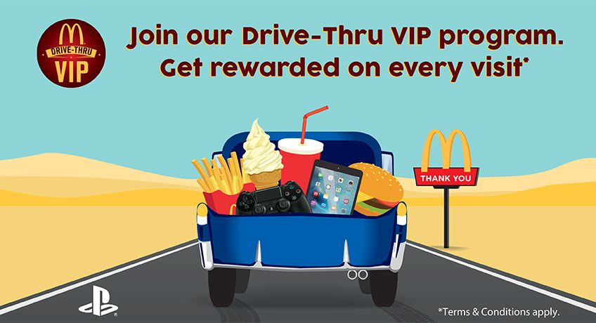McDonald's Drive-Thru Program - Dubaisavers