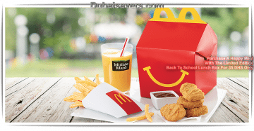 McDonald's Back to School promotion - Dubaisavers