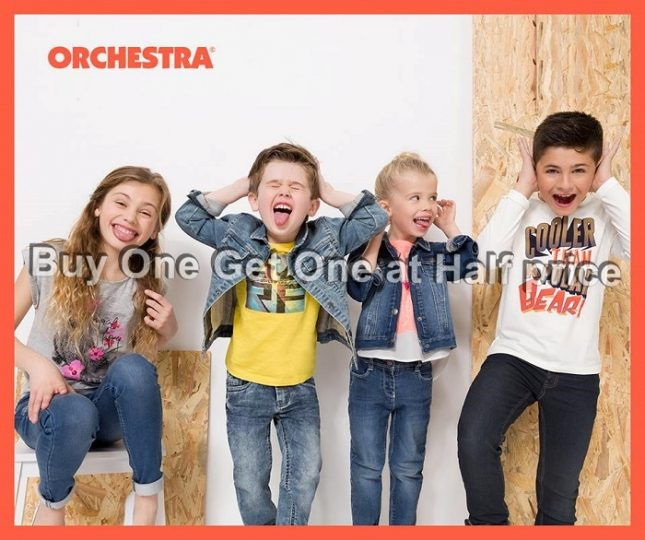 Orchestra Buy 1 Get 1 at Half Price Offer - Dubaisavers