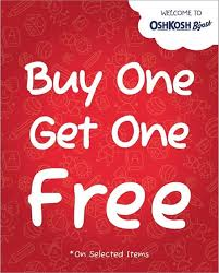 Osh Kosh BGosh Buy 1 Get 1 Free Offer - Dubaisavers