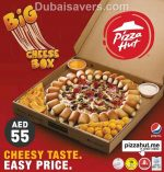 Pizza Hut offers The Big Cheese Box for only AED 55 - Dubaisavers