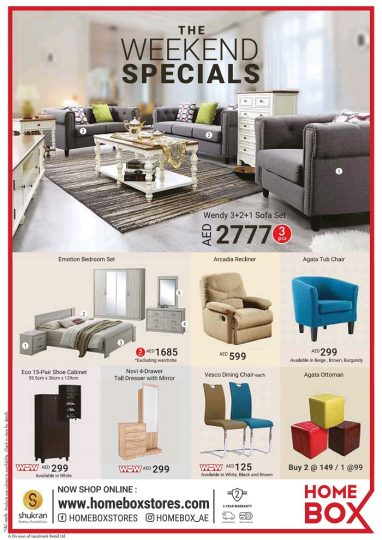 Home Box Weekend Specials Dubaisavers