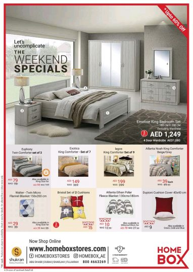 Home Box Weekend Special Offers Updated On 27th October 2017