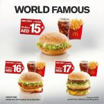 McDonald's World Famous Burgers for Special Prices!
