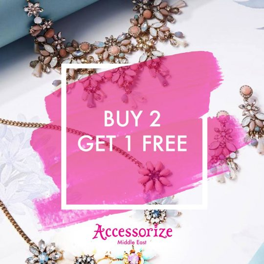 Accessorize Buy 2 get 1 Free deals - Dubaisavers