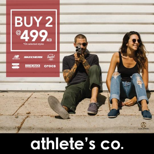 Athlete's Co Special Offers - Dubaisavers