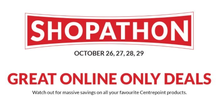 Centrepoint online shopping event