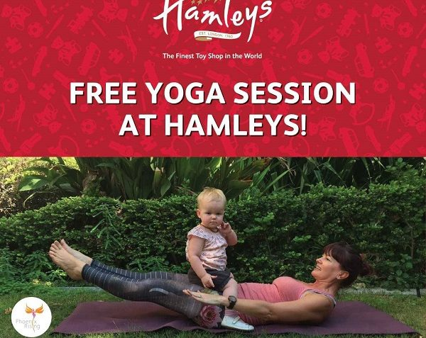 FREE Yoga Session at Hamleys - Dubaisavers
