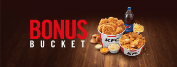 KFC Bonus Bucket promotion