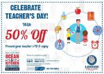 London Fish & Chips teachers day offer