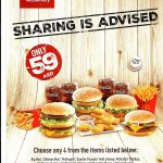 McDonald's Big Celebration Meal for only AED 59