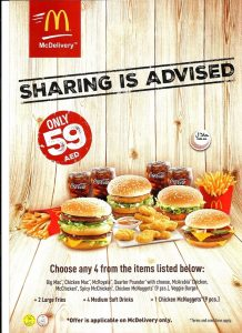 McDonald's Big Celebration Meal for only AED 59 - Dubaisavers