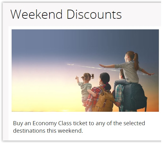 Oman Air Weekend discount offer - Dubaisavers