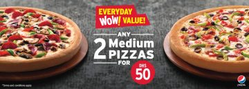 Pizza Hut Medium Size Pizza offer