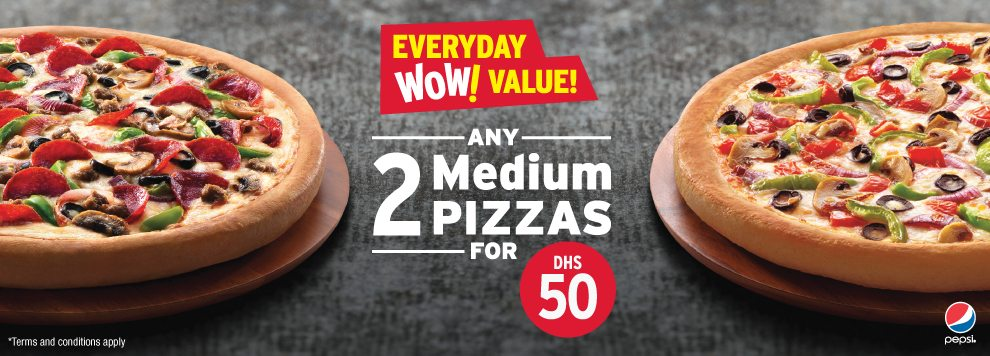 Thanks to amazing deals on pizza hut like free Personal Pizza, Buy 1 Get 50% OFF On 2nd Pizza and more. Order mouth watering food from the menu be it a vegetarian delight or an all-meat selection and save big using Pizza Hut offer code.