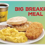 McDonald's Big Breakfast meal!