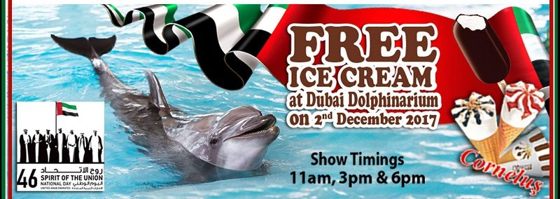 National Day Sweet offer at Dubai Dolphinarium - Dubaisavers