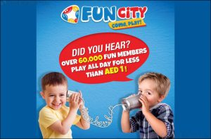 Fun City's 100 Days of Play Membership has over 60,000 little Fun Members - Dubaisavers