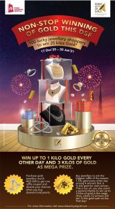 Shop and win gold this DSF - Dubaisavers