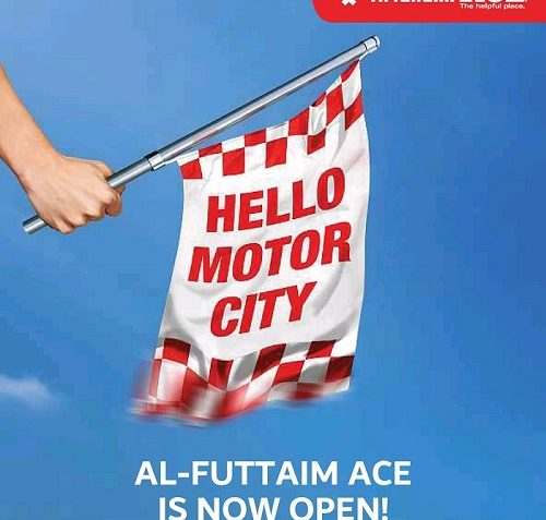 Al Futtaim ACE is now open at First Avenue Mall