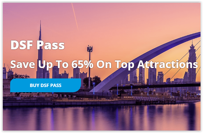 DSF Pass offers amazing discounts - Dubaisavers